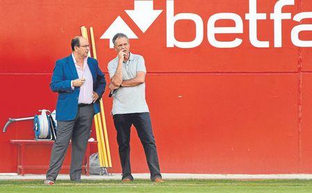 Castro y Caparrós están felices, pero no quieren que haya un ´exceso de azúcar´.