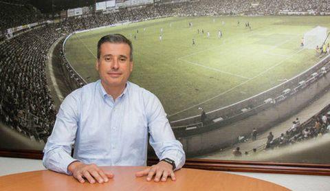 Miguel Ángel Gómez, director deportivo del Valladolid.