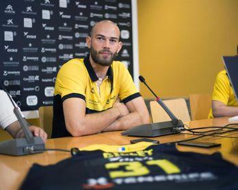Pierre Gillet, contento por la acogida y por encajar bien en el perfil del equipo