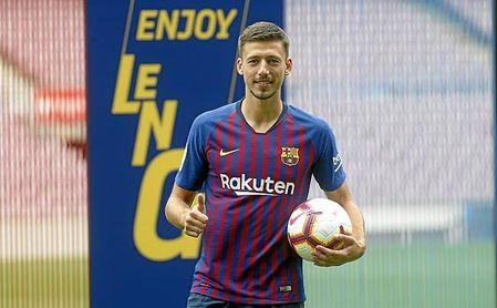 """Lenglet: """"No estaría en el Barça sin el Sevilla"""""""