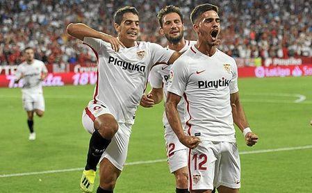 André Silva y ben Yedder suman casi el 70% de los goles del Sevilla FC en LaLiga.