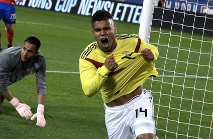 ´El Cucho´ Hernández irrumpe en la selección colombiana a ritmo de récord