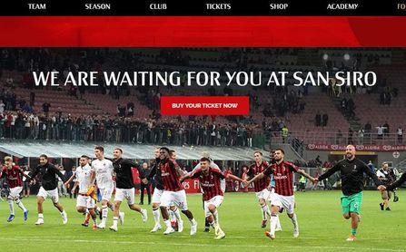 El Milan, próximo rival europeo del Betis.