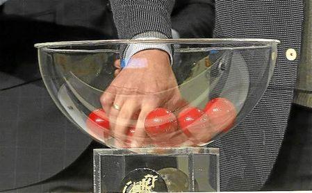 Imagen de un sorteo de Copa del Rey de la temporada pasada.