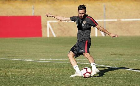 Sarabia cree que tienen opciones de ganar en el Camp Nou.