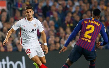 El Sevilla conserva su plaza Champions pese a la derrota