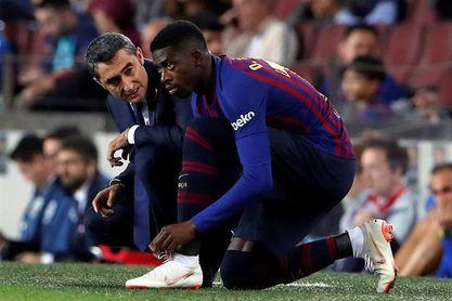 Dembélé, Rafinha o incluso Vidal, opciones de Valverde para suplir a Messi