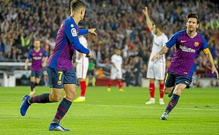 Messi y ter Stegen, grandes protagonistas.