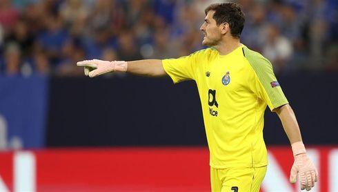 """Casillas recomienda """"mantener la calma"""""""