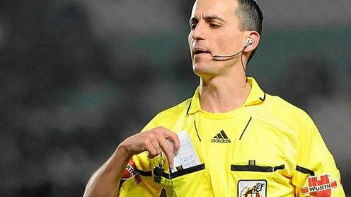 Jaime Latre pitará el Getafe-Betis.