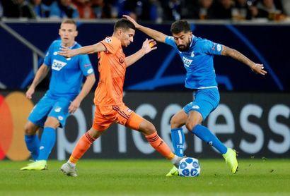 3-3. El Hoffenheim paga sus errores con un empate ante un efectivo Lyon