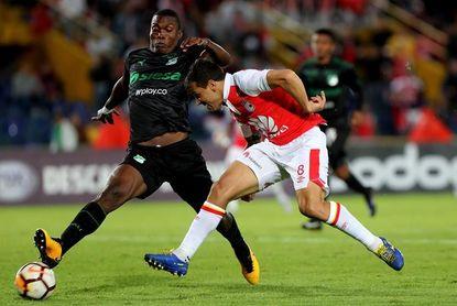 1-1. Cali le saca un empate a Santa Fe en polémico debut del VAR en Colombia