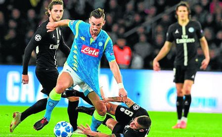 Fabián conquista definitivamente a Ancelotti