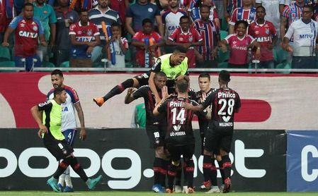 Atlético Paranaense con Pablo llega confiado al encuentro con el Fluminense.