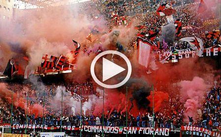 La Policía Nacional detiene a una veintena de ultras del Milan (VÍDEO)