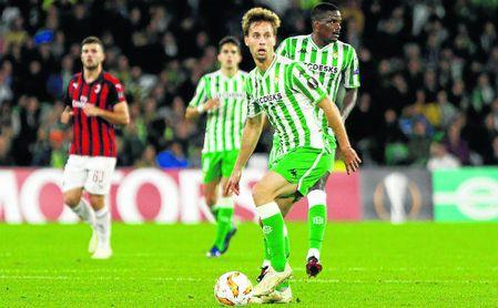 Carvalho (de los más sobrecargados de minutos últimamente), el jueves entre Bartra (el que acumula más este curso) y Canales (3º).