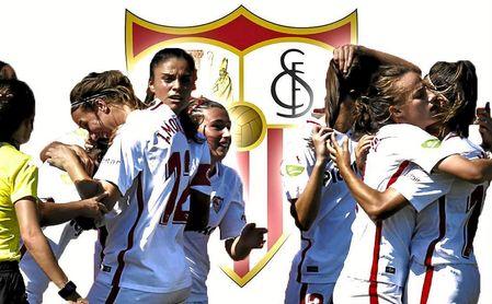 La sección femenina del Sevilla FC.