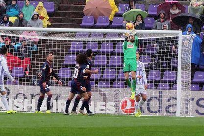 0-0. Valladolid y Eibar empatan en juego y resultado