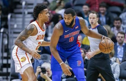 109-124. Drummond lidera a Pistons a su segundo triunfo consecutivo