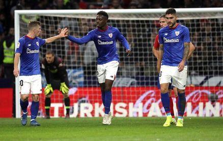3-2. Godín y el gol del cojo remontan al Athletic