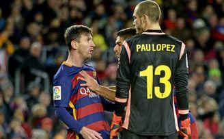 Pau y Messi, el reencuentro
