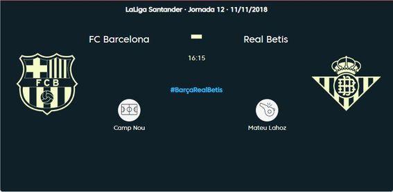 Barcelona-Betis (3-4): ¡Final del partido!