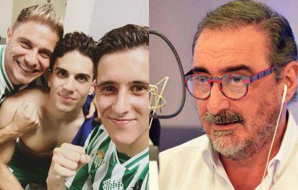 """Joaquín, con Carlos Herrera: """"Fue un espectáculo ver al Betis"""""""