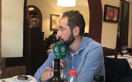 Machín, durante la entrevista concedida a Canal Sur Radio.