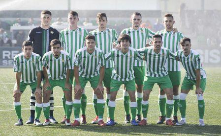 En la imagen, once del Betis Deportivo que se enfrentó al Arcos.