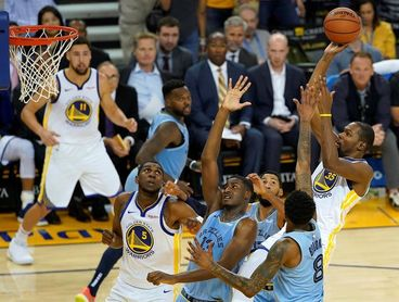 110-103. Durant y Warriors reivindican condición de líderes y superan crisis