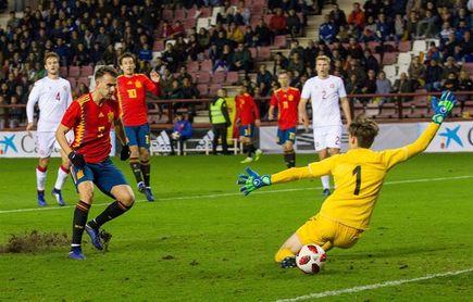 4-1. España y Borja Mayoral marcan territorio