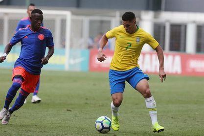 Brasil y Colombia empatan 0-0 con un Vinicius Júnior eclipsado
