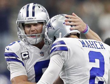 19-22. Maher marca la victoria de los Cowboys con gol de campo
