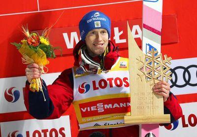 Evgeniy Klimov, primer ruso que gana una prueba de la Copa del Mundo de saltos