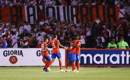 2-3. Costa Rica sella un triunfo ante un Perú que mereció mejor suerte