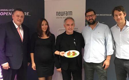 Ferrán Adrià conoce a Marko de Newfarm