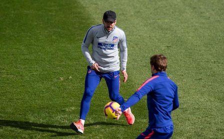 Simeone perfila su once con Lemar, Rodrigo y Costa