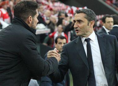 Simeone-Valverde, 8-1 en triunfos y cuatro empates