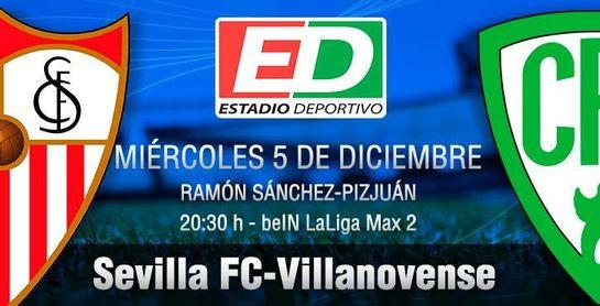 Sevilla FC-Villanovense: La 'unidad B' tiene la responsabilidad