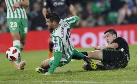 4-0. El Betis se mete en los octavos con una plácida goleada