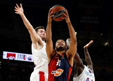 76-73. El Baskonia recupera el pulso con un agónico triunfo ante el CSKA