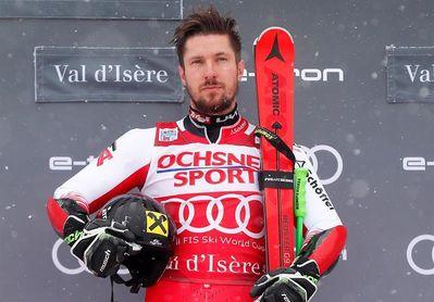 Hirscher empieza la campaña europea ganando el gigante de Val d´Isere