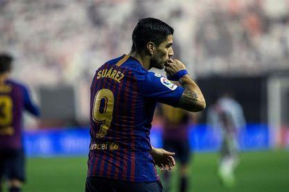 Luis Suárez y Dembélé, titulares; Coutinho en el banquillo