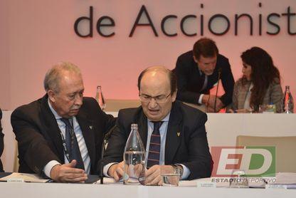 La junta de accionistas rechaza el blindaje del Sánchez-Pizjuán