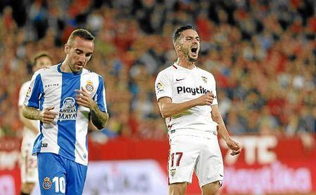 Pablo Sarabia ha marcado 14 goles en la presente campaña.