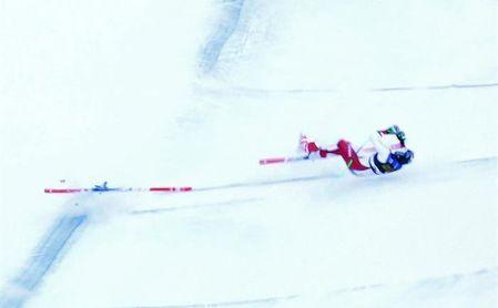 El suizo Marc Gisin no presenta lesiones graves