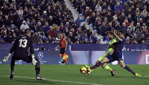 0-5. Messi liquida al Levante