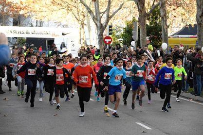 La San Silvestre Mini congrega a 1.500 niños en Madrid
