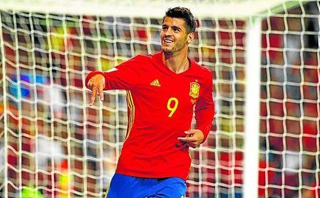 El internacional español Álvaro Morata quiere volver a jugar en España.