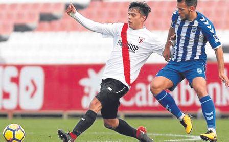 Nacional viene a por Carballo, del Sevilla Atlético